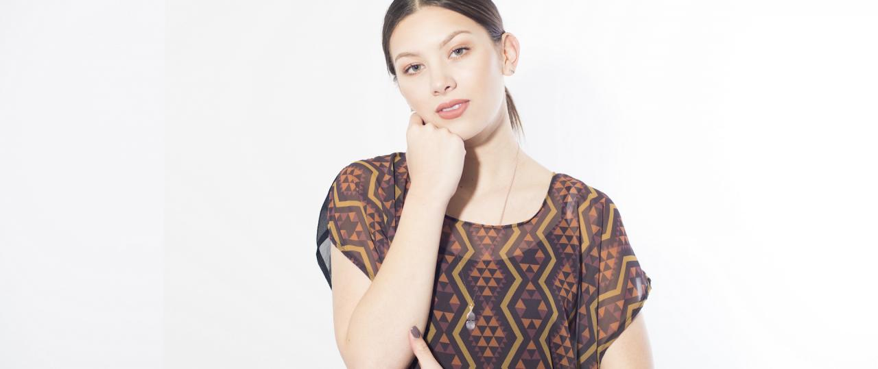 Maori Designs Clothing | Young Maori Fashion Designer Adrienne Whitewood On Her First Solo